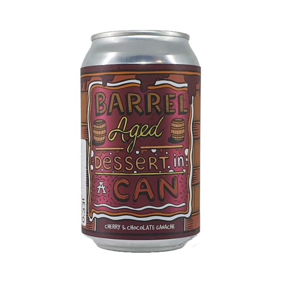 Amundsen Barrel Aged Dessert In A Can - Cherry & Chocolate Ganache 0,33L