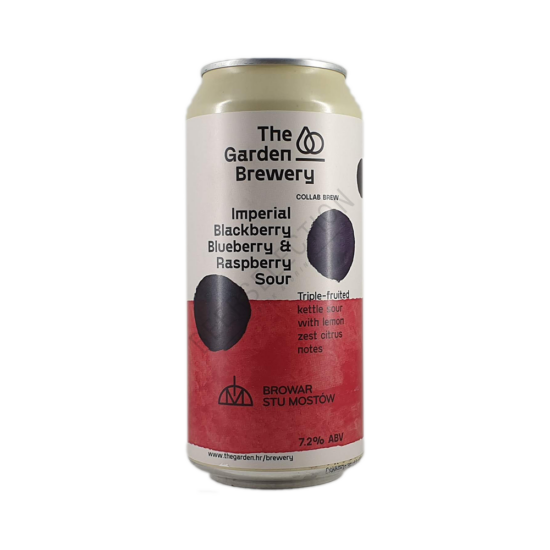 The Garden Brewery Imperial Blackberry, Blueberry & Raspberry Sour 0,44L