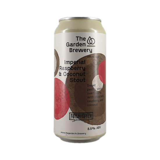 The Garden Brewery Imperial Raspberry & Coconut Stout 0,44L