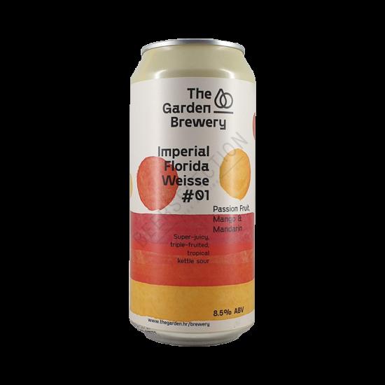 The Garden Brewery Imperial Florida Weisse #1 Orange, Mango, Passionfruit 0,44L