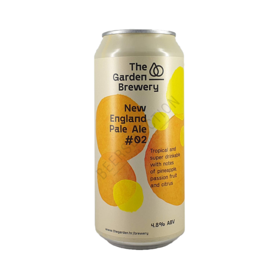 The Garden Brewery New England Pale Ale #2 0,44L