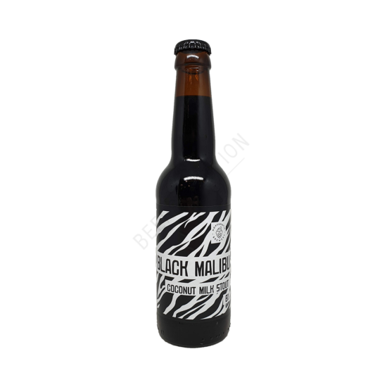 Hopfanatic Black Malibu Coconut Milk Stout 0,33L