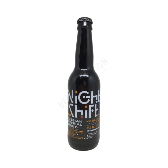 Horizont Night Shift 2019 Tennessee Whiskey BA 0,33L