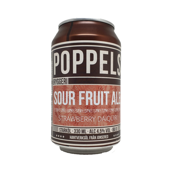 Poppels Strawberry Daiquiri Sour Ale Can 0,33L