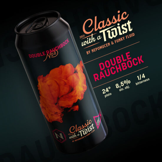 Funky Fluid Funky Classic With a Twist #2: Double Rauchbock 0,5L