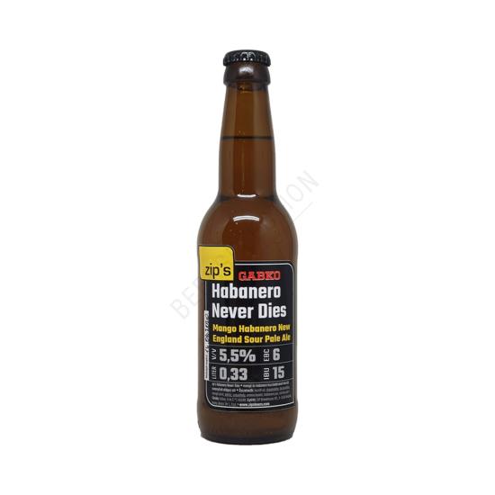 Zip's Habanero Never Dies 0,33L