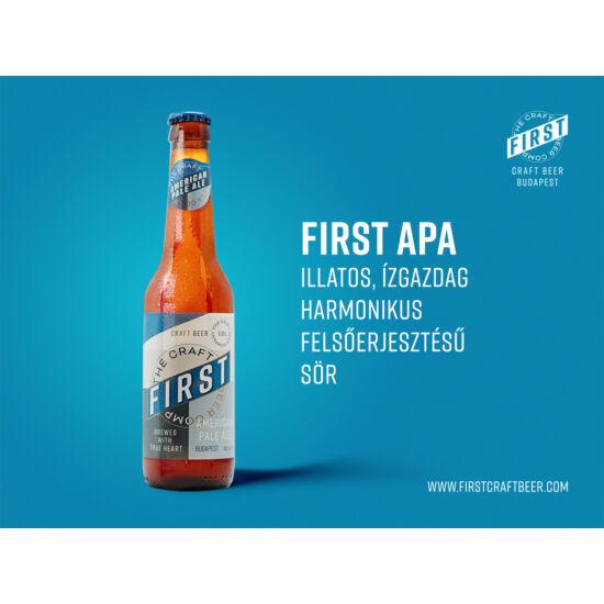 First - American Pale Ale 0,33L