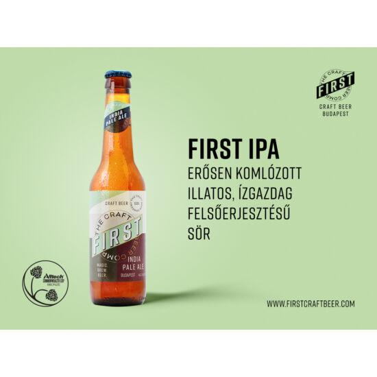 First - IPA (Üveges) 0,33L