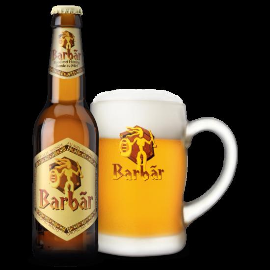 Barbar - Honey 0.33L