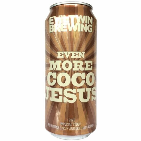 Evil Twin Brewing - Even More Coco Jesus Imperial Stout 0.475L can