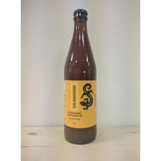 Stu Mostow Salamander Strawberry Milkshake IPA 0.5L