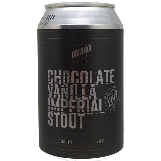 First - Chocolate Vanilla Imperial Stout 0.33l (CAN)