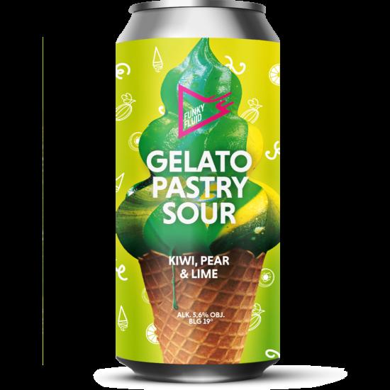 Funky Fluid Gelato: Kiwi, Pear & Lime 0,5L