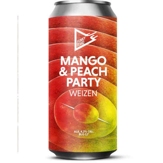 Funky Fluid Mango & Peach Party 0,5L