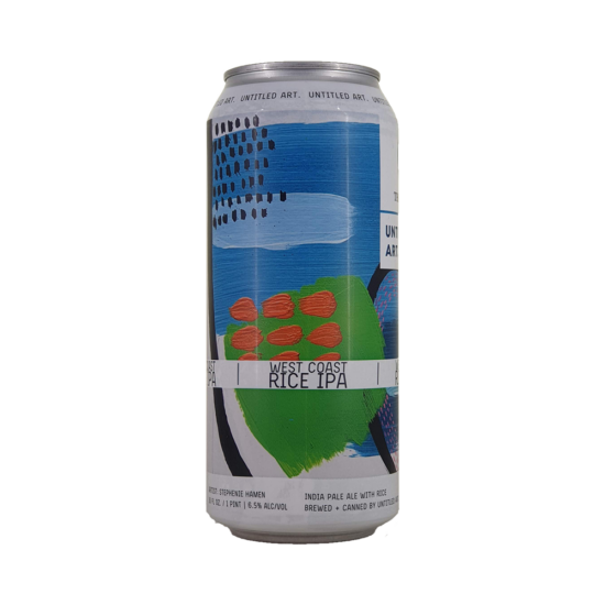 Untitled Art West Coast Rice IPA 0,473L Can