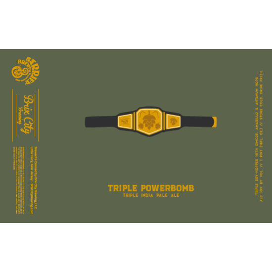 Brix City Brewing Triple Powerbomb 0,473L