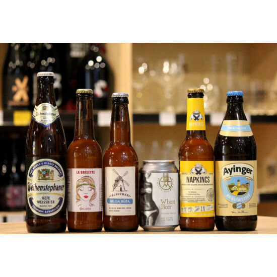 Búza Sörcsomag (6 db sör)
