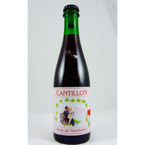 Cantillon Rosé De Gambrinus 0,375L