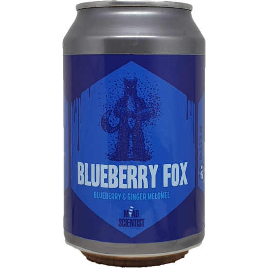 Mead Scientist Blueberry Fox 0,33L