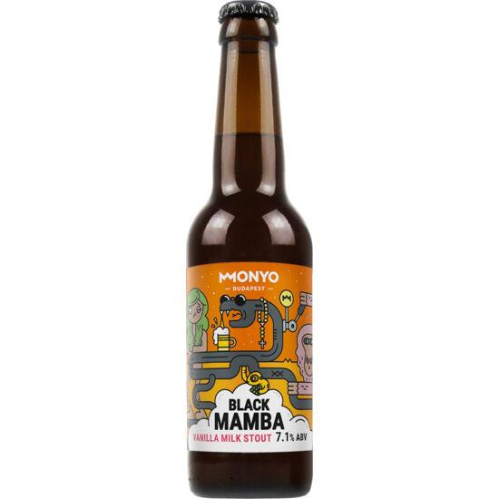 Monyo Black Mamba Vanilla Milk Stout 0,33L