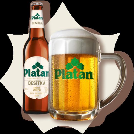 Platan Desitka 0,5L