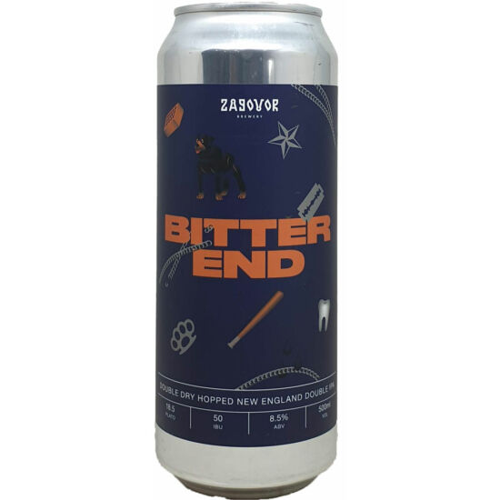 Zagovor Brewery Bitter End 0,5L